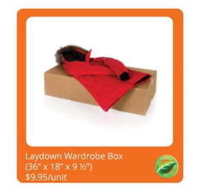Lay-Down Wardrobe Box