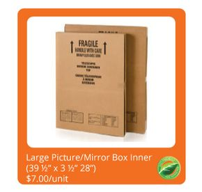 Large Picture/Mirror Box 2-Piece