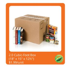 2.0 Cubic-Foot Box