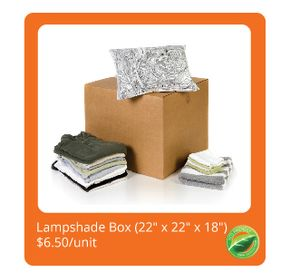 Lampshade Box $5.99/unit