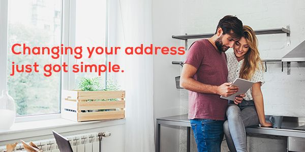 Changing your address just got simple.