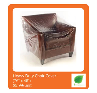 Heavy duty chair cover