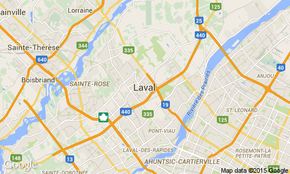 Laval map